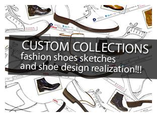 CUSTOM COLLECTIONS FASHION SHOES DESIGN