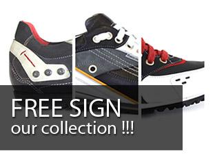 FREE SIGN FOOTWEAR DESIGN