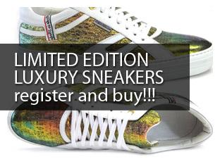 LUXURY SNEAKERS LIMITED EDITION